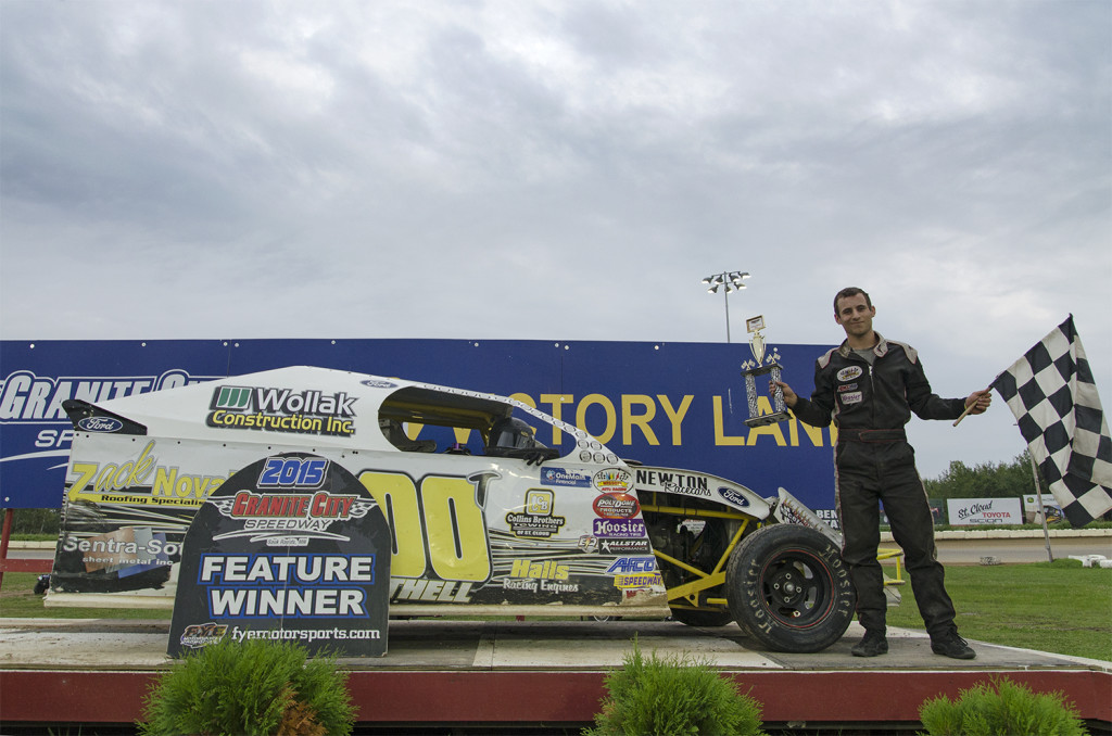 Keith Thell Victory Lane