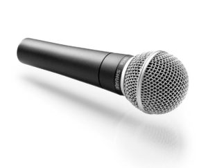 Shure SM58-CN Dynamic Vocal Microphone, Cardioid